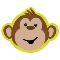Monkey - 8 Einladungskarten