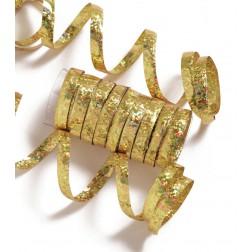 Luftschlangen - gold