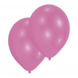Luftballons Rosa 10 Stück