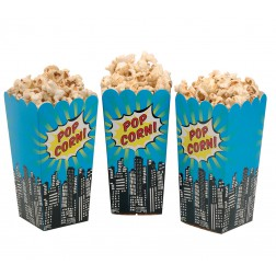 Popcorn Boxen Pop Art Party 8Stück