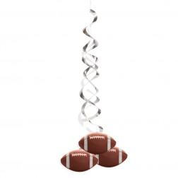 Hängende Deko Super Bowl 2er Set