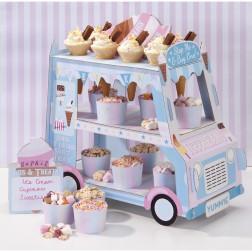 Eis und Süßigkeitenwagen