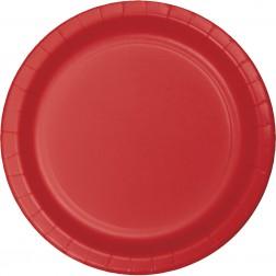 Pappteller rot 8 Stück