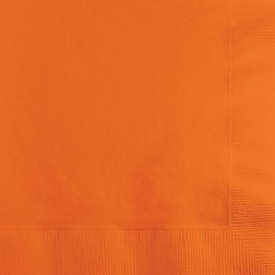 Servietten Orange 20 Stück