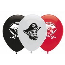 Luftballone Piraten Party