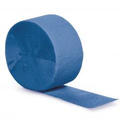 Krepprollen blau 24,6m