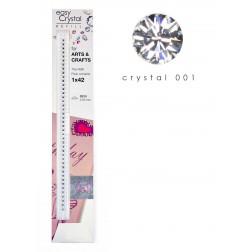easy Crystal Nachfüllstreifen mit hochwertigen Kristallen für Papier & Basteln