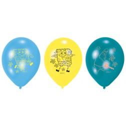 SpongeBob Luftballons 6 Stück