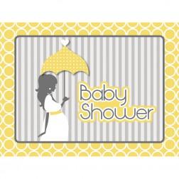 Einladungskarten Mod Baby Shower 8 Stück