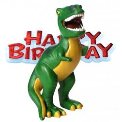Torten Deko Dino - Happy Birthday 2er Set