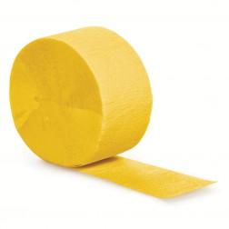 Krepprollen gelb 24,6m