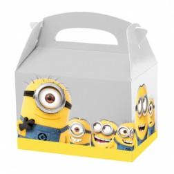 Minions Party Box mit Tragegriff 4 Stück