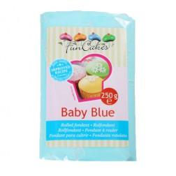 Rollfondant Babyblau 250g
