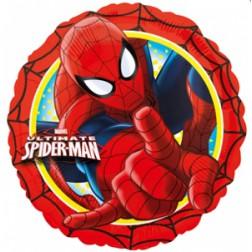 Spider Man Folienballon rund 43cm