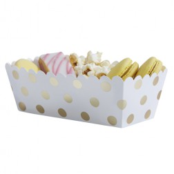 Snack Boxen Pick and Mix Polka Dots 5 Stück
