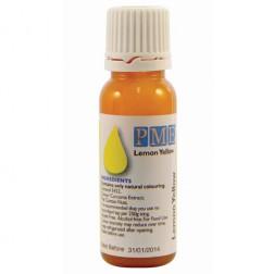 PME Natürliche Lebensmittelfarbe Gelb 25g