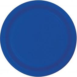 Pappteller Blau 8 Stück
