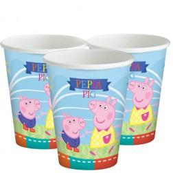 Pappbecher Peppa Pig 8 Stück