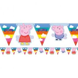 Flaggen Banner Peppa Pig 1,50m