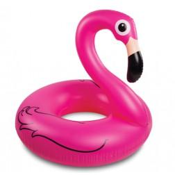Aufblasbarer Schwimmring Flamingo pink 152cm