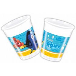 Finding Dory Nemo Becher 8 Stück