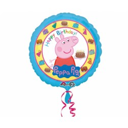 Peppa Pig Folienballon Happy Birthday 43cm