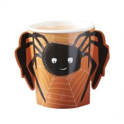 Pappbecher Spider Spooky 8 Stück