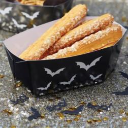 Snack Boxen Sarg schwarz 5 Stück