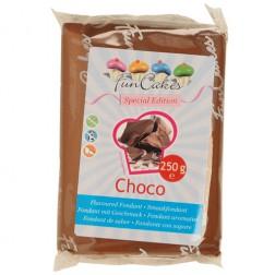 FunCakes Rollfondant Schokoladengeschmack 250g