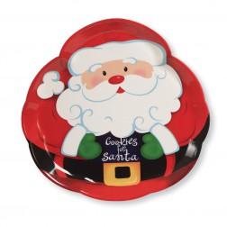Plätzchen Platte Santa 35cm