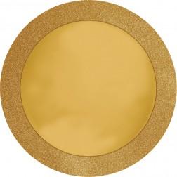 Platzdeckchen glitzer gold 8 Stück