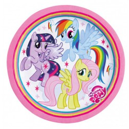 My Little Pony Rainbow Pappteller 8 Stück