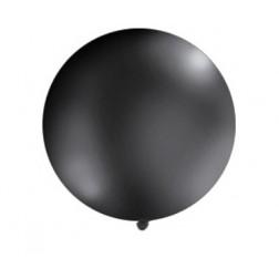 Riesenballon schwarz 1m