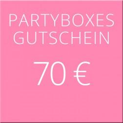 70 Euro Geschenkgutschein