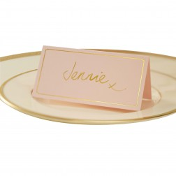 Platzkarten Rosa Gold Pastel Perfection 10 Stück