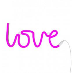 LOVE Light neon style pink