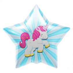 Unicorn Folienballon 56cm