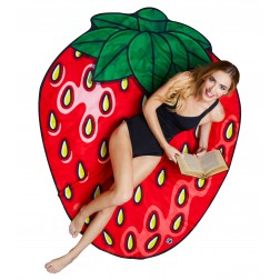 Strandtuch Erdbeer 1,5m