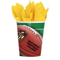 NFL Super Bowl Pappbecher 354ml 8 Stück