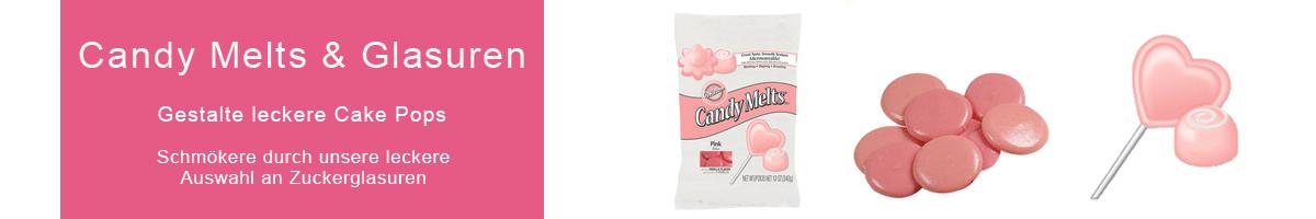 Schokolade Candy Melts und Glasuren