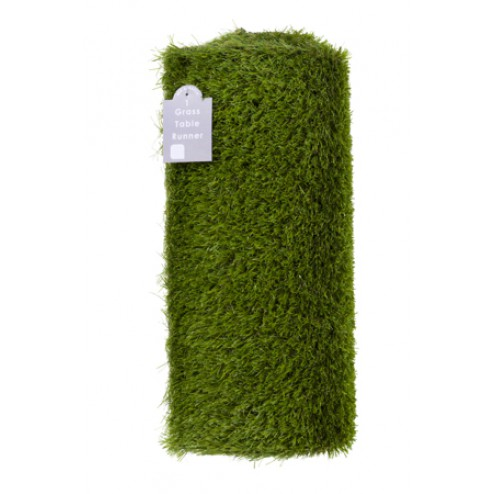 Gras Tischläufer Kunststoff 40 x 150cm