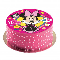 Tortenaufleger Minnie Mouse 20cm