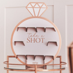 Drinks Shot Wall Rosegold