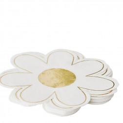 Servietten Blume DAISY 16 Stück