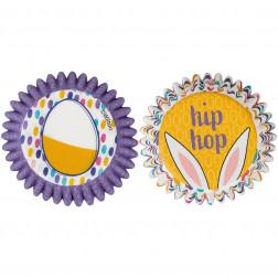 Mini Baking Cups Hip Hop 100 Stück