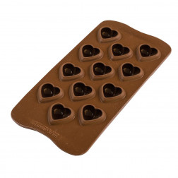 Silikomart Chocolate Mould My Love
