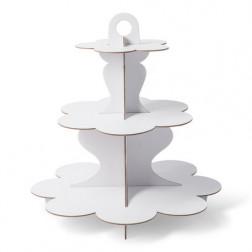 Cupcake Stand weiß 34cm