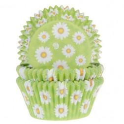 Cupcake Baking Cups Daisy 50 Stück