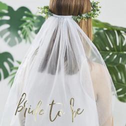 Braut Schleier Eucalyptus Bride To Be Hen Party