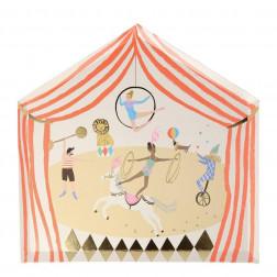 Pappteller Circus Parade Party 8 Stück